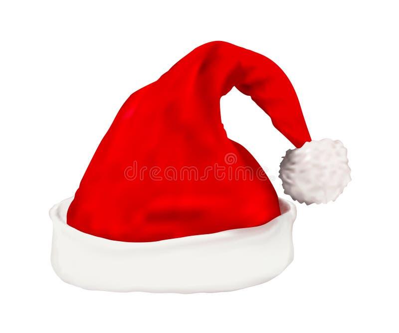 Weihnachtskappe lizenzfreie abbildung