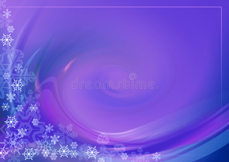 Weihnachtskarte 04 stock abbildung