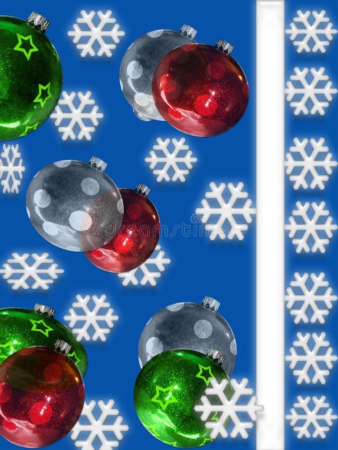 Weihnachtskarten-Abbildung lizenzfreie abbildung