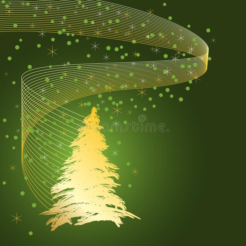 Weihnachtskarten-Auslegung lizenzfreie abbildung