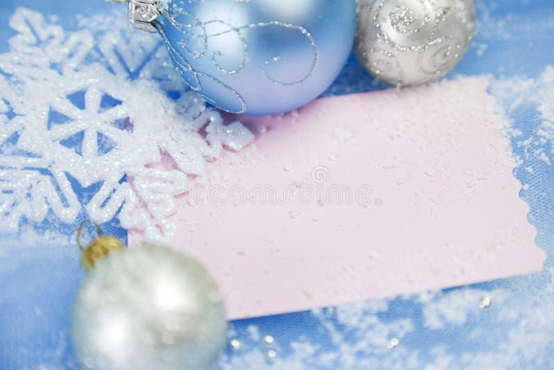 Weihnachtskarten/mit Exemplarplatz lizenzfreies stockbild