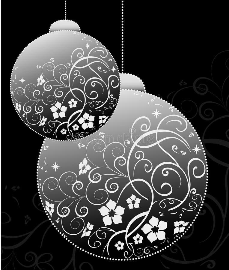Weihnachtskartenauslegung vektor abbildung