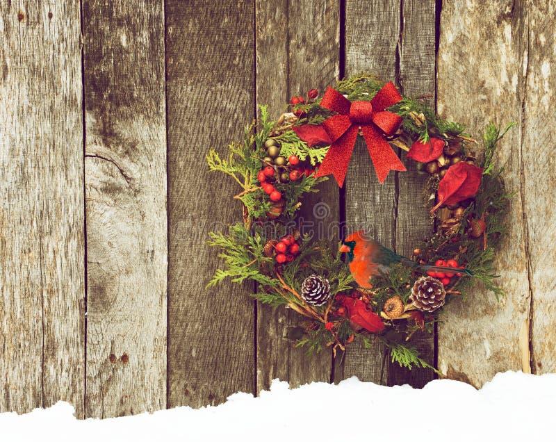 Weihnachtskartenhintergrund. lizenzfreie stockfotografie