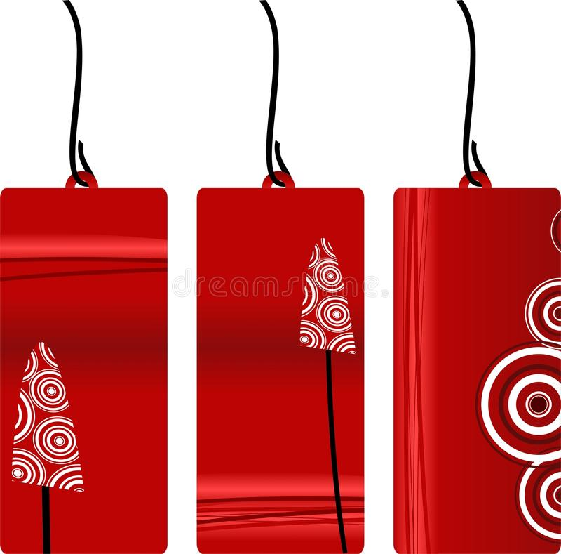Weihnachtskennsatzfamilie lizenzfreie abbildung