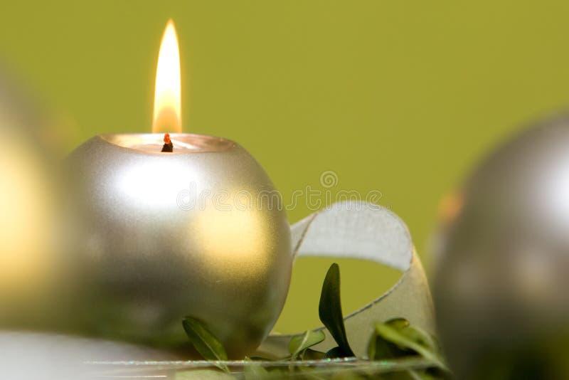 Download Weihnachtskerze stockbild. Bild von hoffnung, celebrate - 12200851
