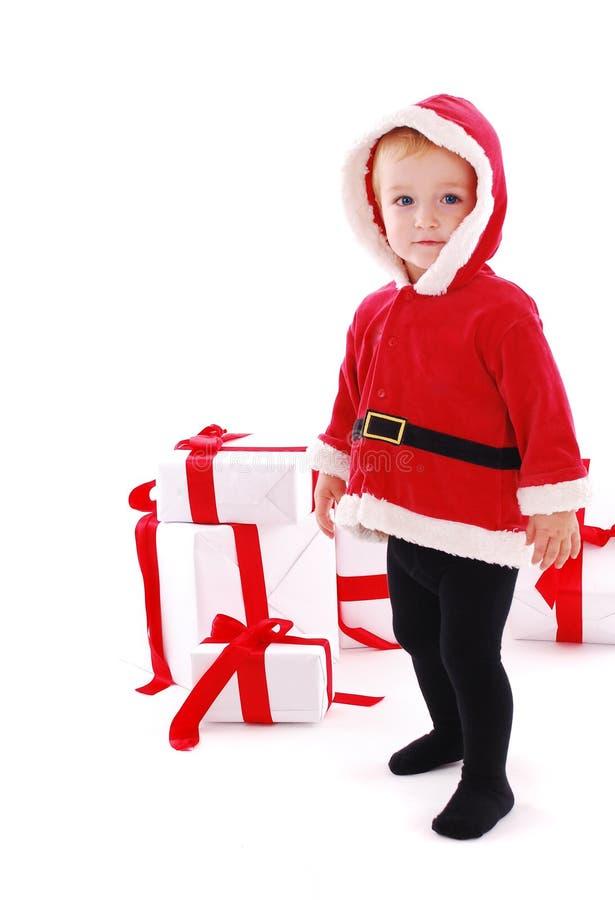 Weihnachtskind stockbilder