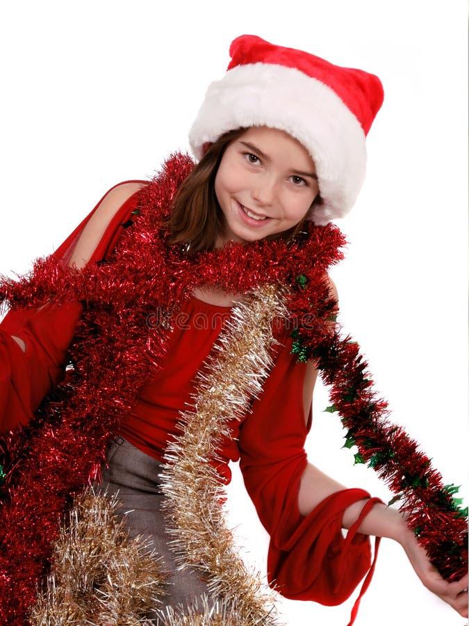 Weihnachtskind lizenzfreie stockbilder