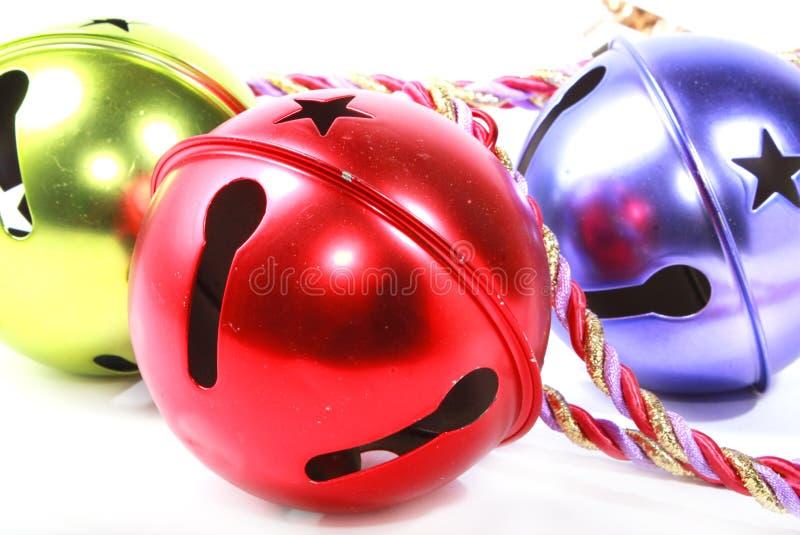 Weihnachtsklingelglocken lizenzfreies stockbild