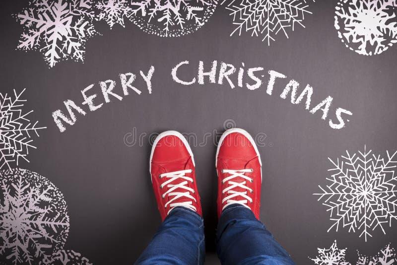 Weihnachtskonzept stockfotos