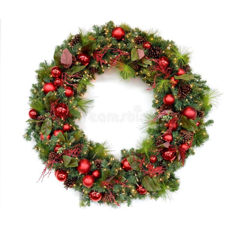 WeihnachtsKranz stockfotos