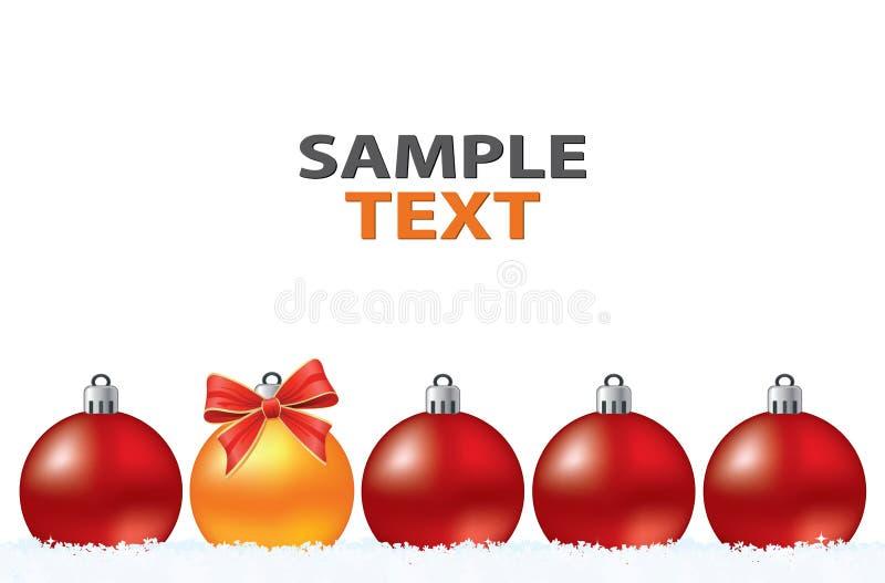 Weihnachtskreative abstrakte Grußkarte vektor abbildung