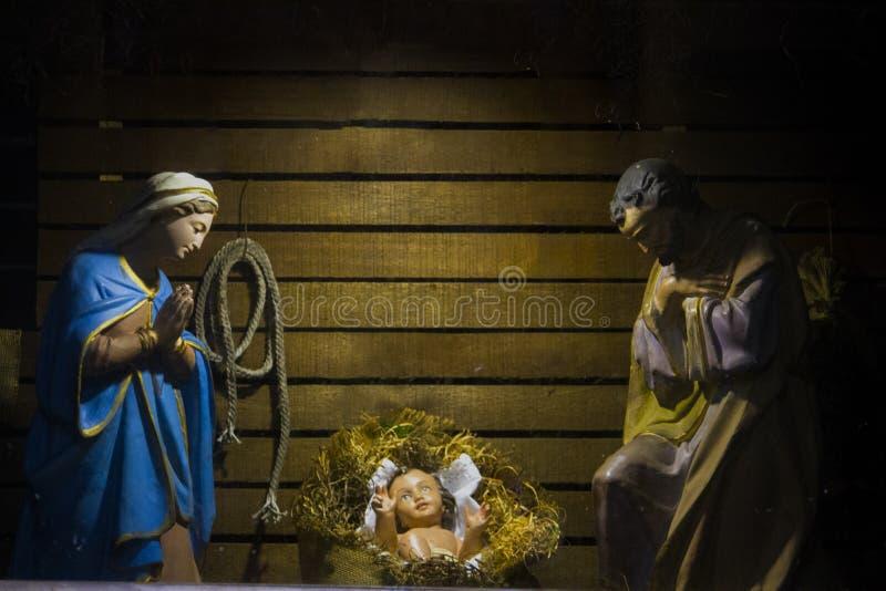Weihnachtskrippe lizenzfreies stockfoto