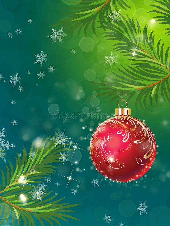 Download Weihnachtskugel stock abbildung. Illustration von kugel - 12201527