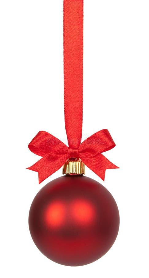 Weihnachtskugel lizenzfreie stockfotos