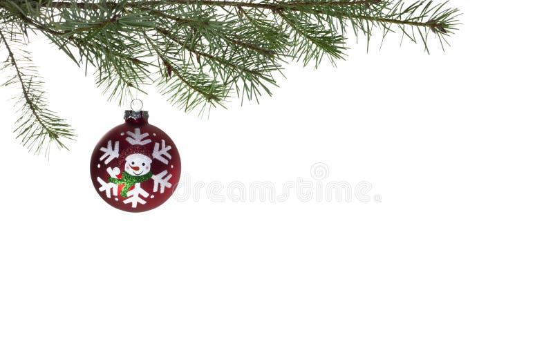 Weihnachtskugel stockfotografie
