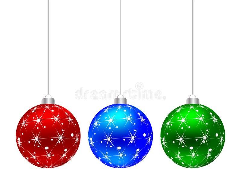 Weihnachtskugel stock abbildung