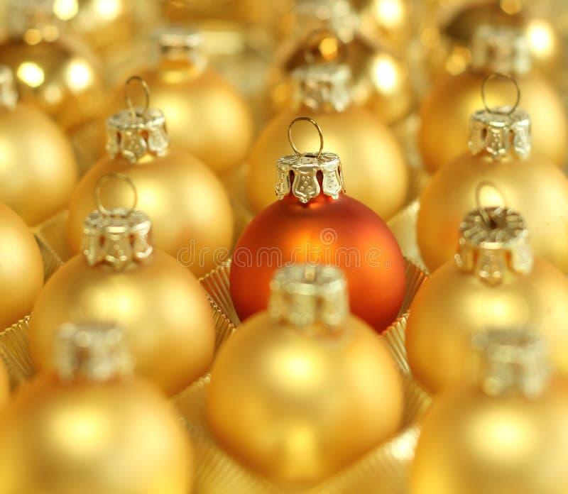 Weihnachtskugelhintergrund lizenzfreies stockfoto