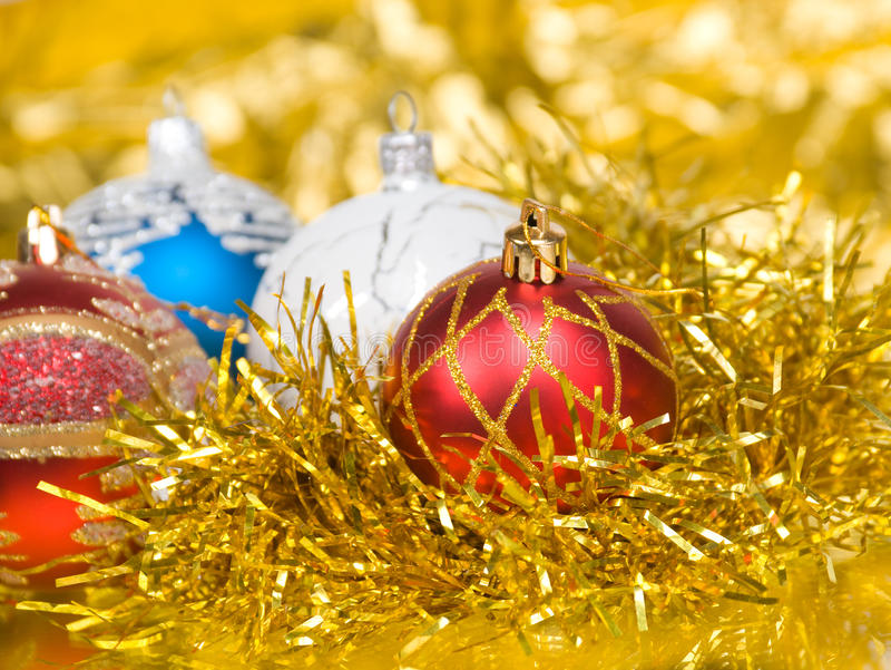 Weihnachtskugeln. stockfotos