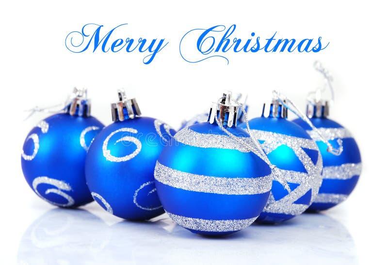 Weihnachtsbälle stockbild