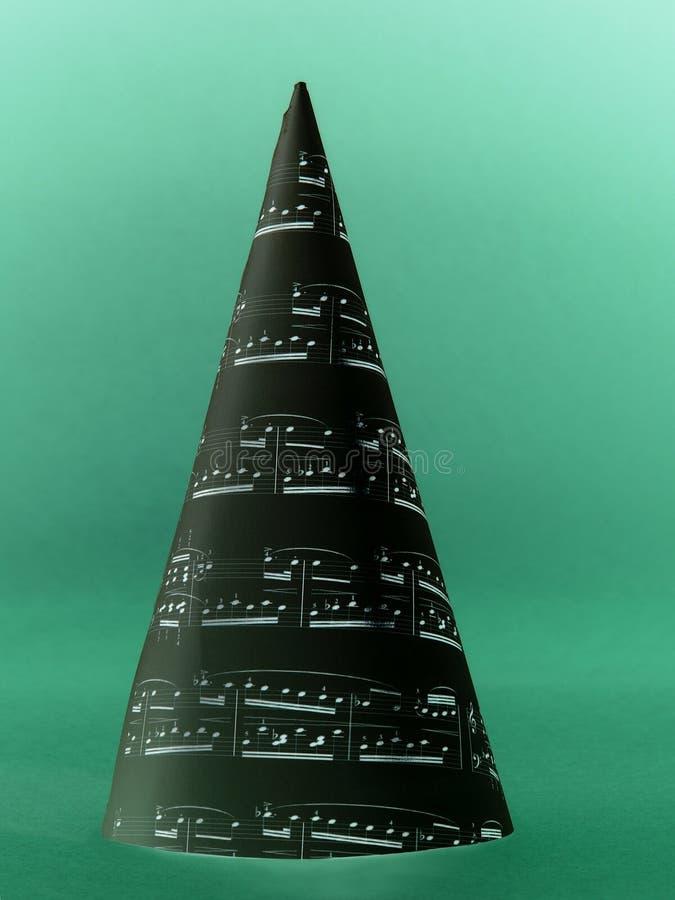 Weihnachtsliedbaum lizenzfreie abbildung