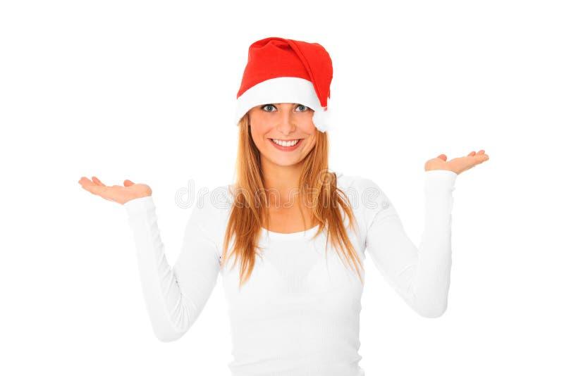 Download Weihnachtsmädchen stockbild. Bild von freundlich, dezember - 27729059