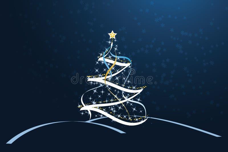 Weihnachtsmagie stock abbildung