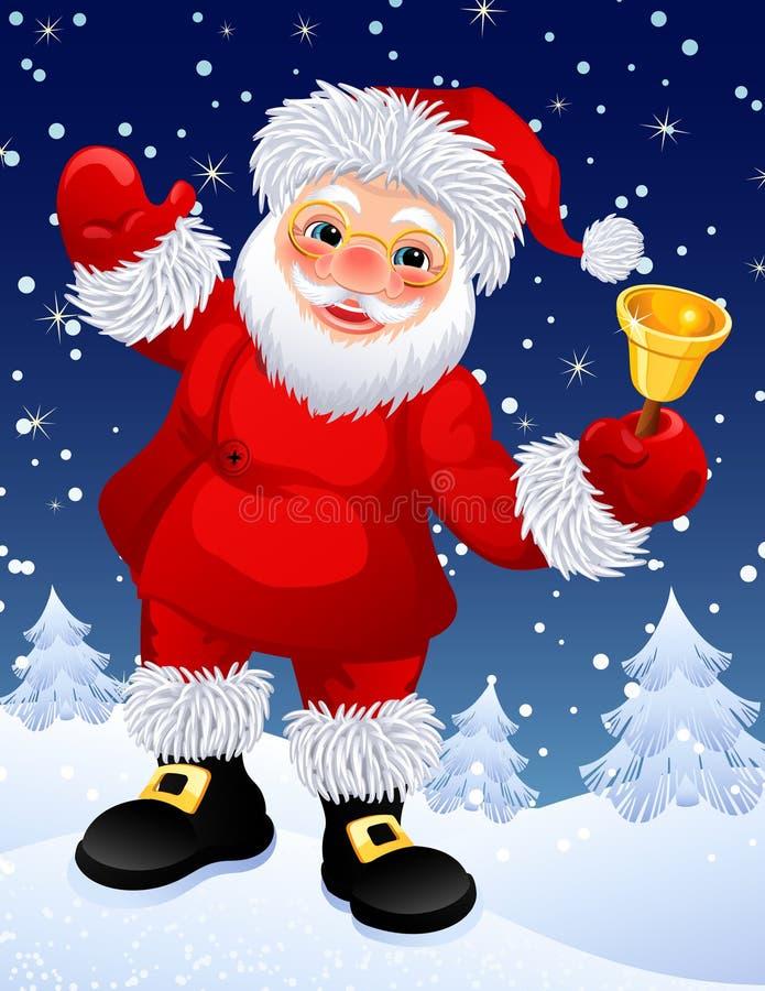 Weihnachtsmann lizenzfreie abbildung