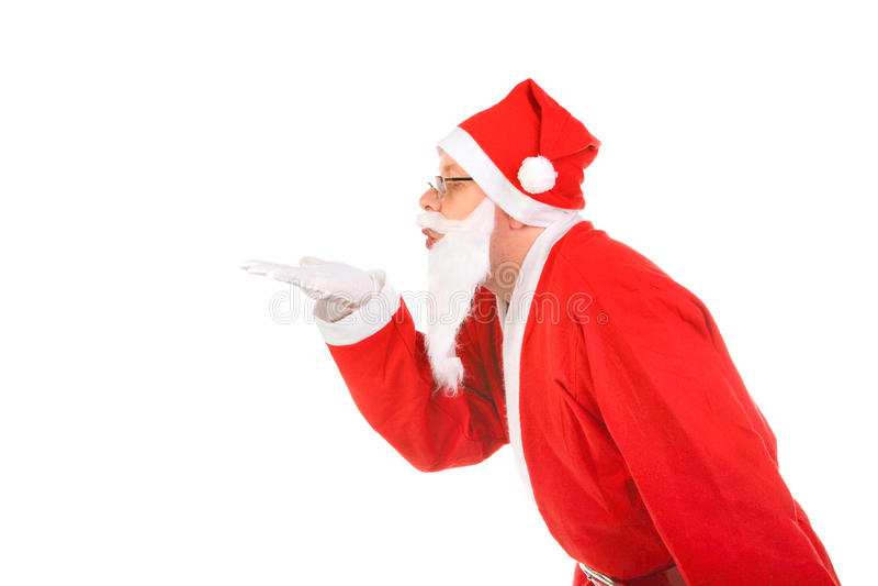 Weihnachtsmann stockbild