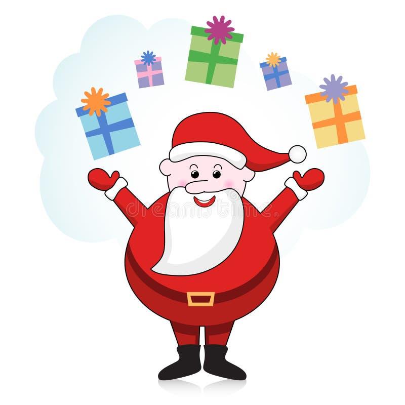 Weihnachtsmann stock abbildung