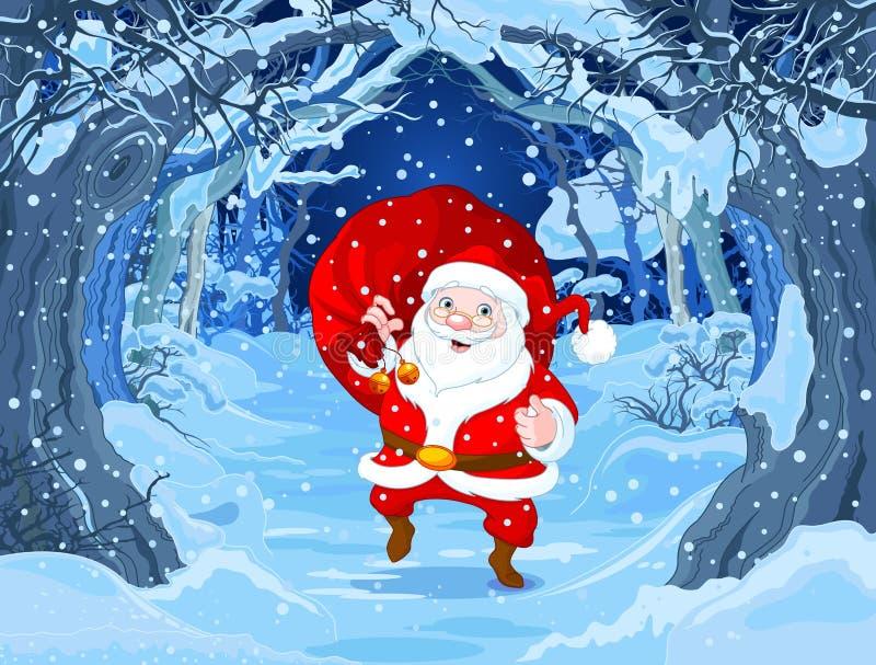 Weihnachtsmann _2 stock abbildung