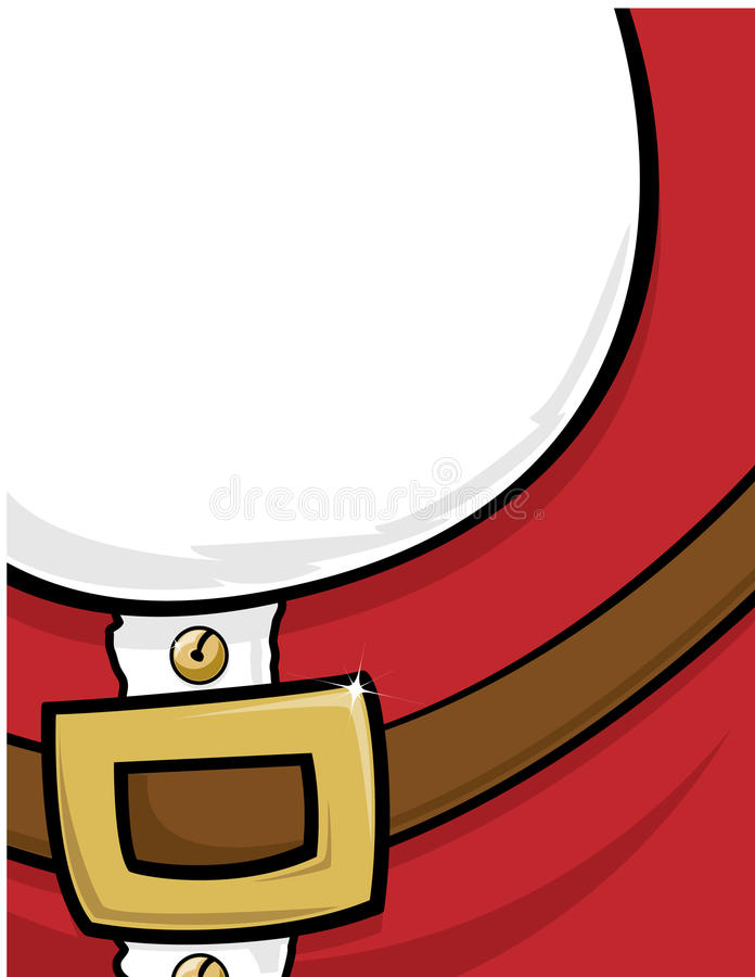 Weihnachtsmann-Hintergrund lizenzfreie abbildung