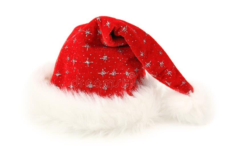 Weihnachtsmann-Hut lizenzfreie stockbilder