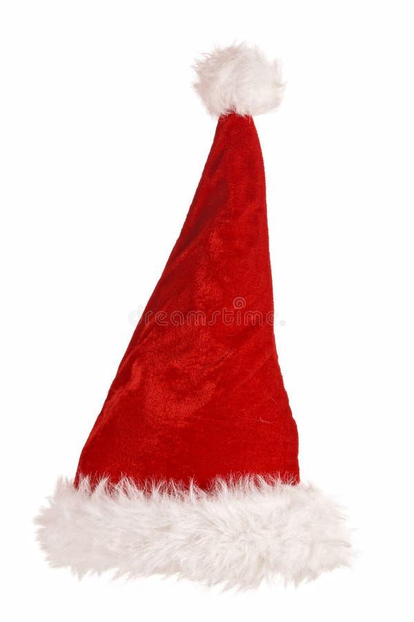 Weihnachtsmann-Rothut stockfotos