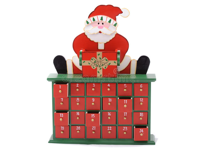 Weihnachtsmann-Schrank lizenzfreies stockbild