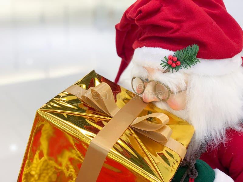 Weihnachtsmann-, Weihnachts- und Newyear-Dekoration stockfotos