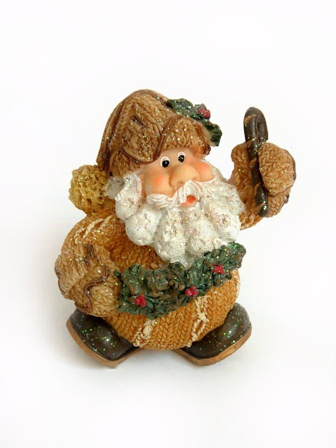 Weihnachtsmann-Weihnachtsdekoration lizenzfreies stockfoto