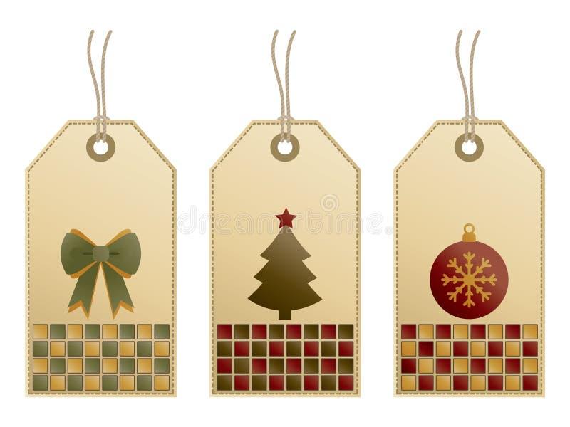 Weihnachtsmarken vektor abbildung