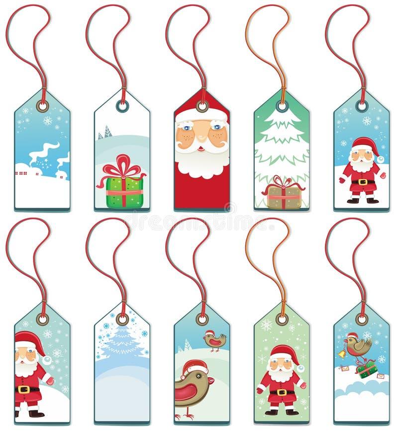 Weihnachtsmarken. stock abbildung