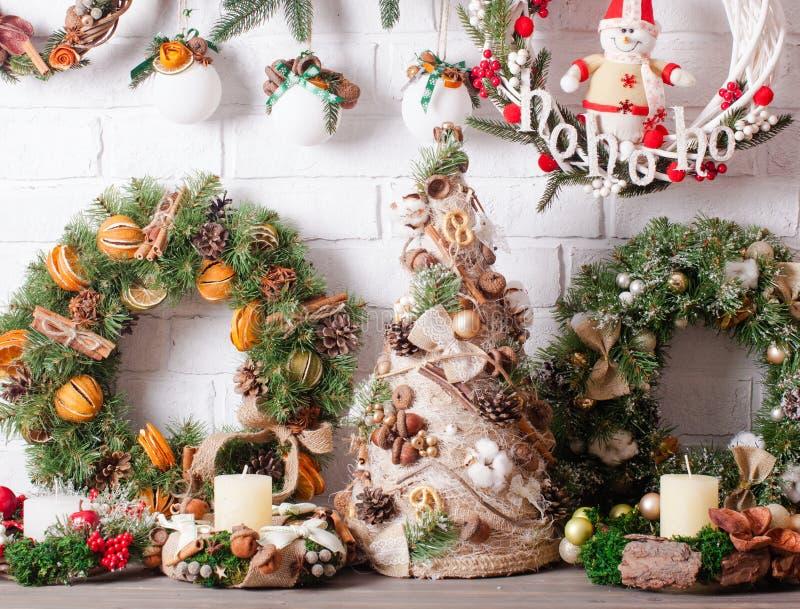 Weihnachtsmarktdekor lizenzfreie stockfotos