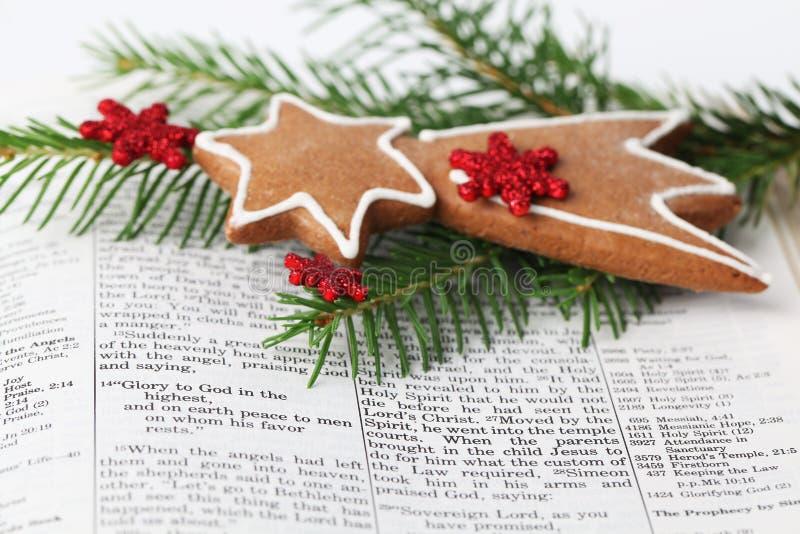 Weihnachtsmeldung stockfoto