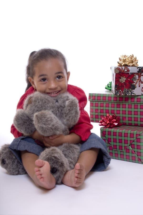 Weihnachtsmorgen stockfotografie