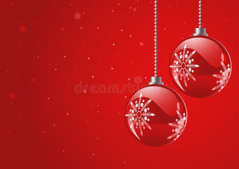 Weihnachtsmotiv und Hintergrund lizenzfreie abbildung
