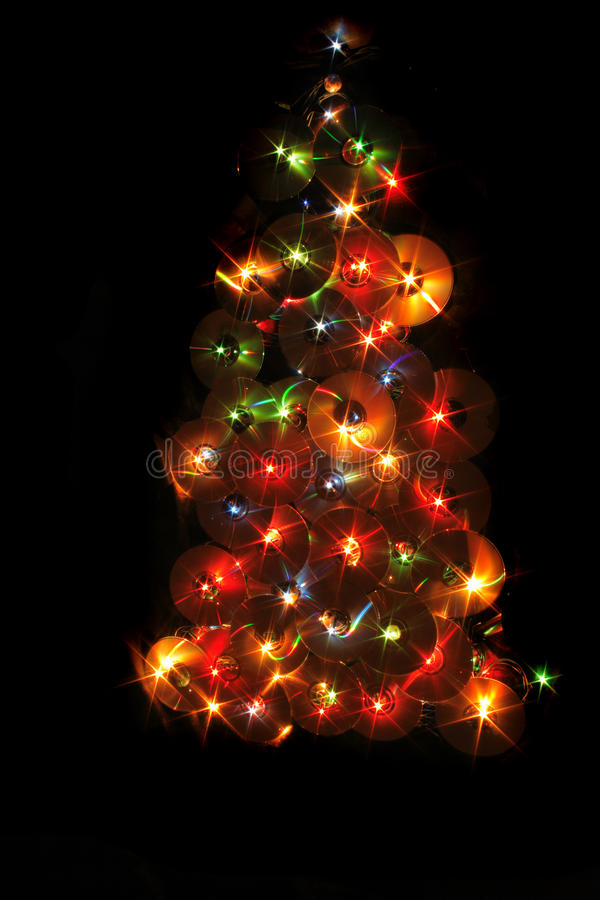 Weihnachtsmusikbaum stockfotos