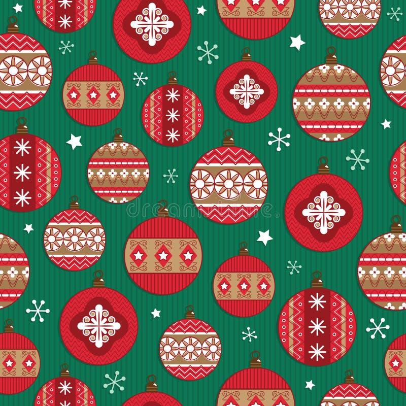 Weihnachtsmuster stock abbildung