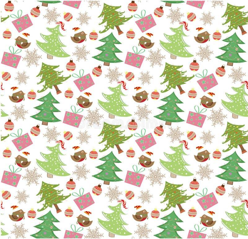 Weihnachtsmuster NAHTLOS vektor abbildung