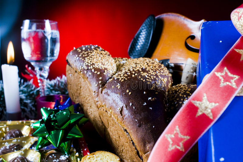 Weihnachtsnachrichten lizenzfreies stockfoto