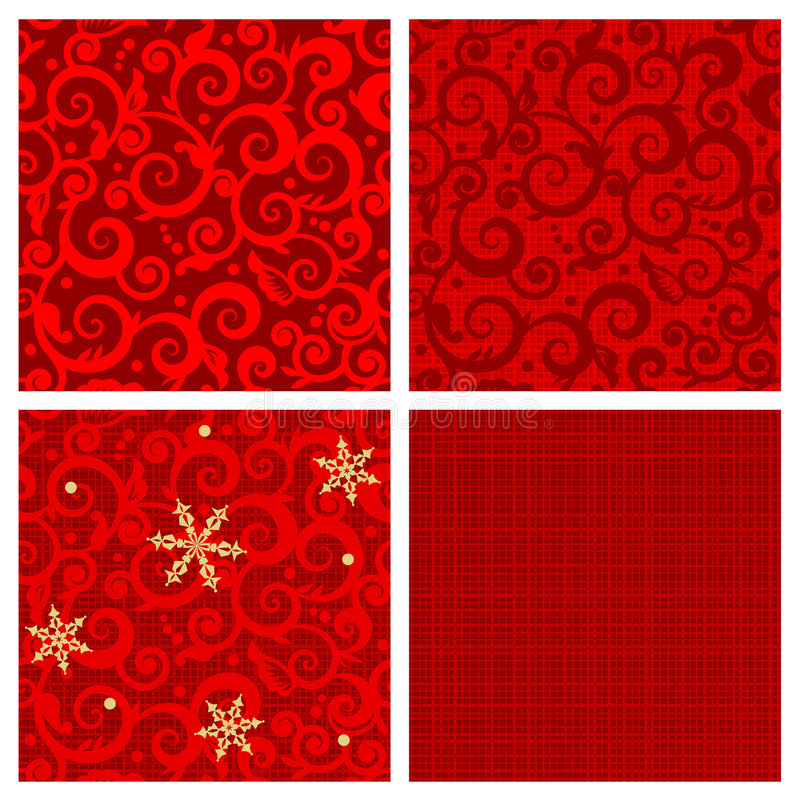 Weihnachtsnahtlose Muster vektor abbildung