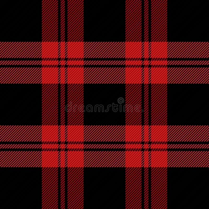 Weihnachtsneues Jahr Schottenstoff Muster Scottishkäfig lizenzfreie abbildung
