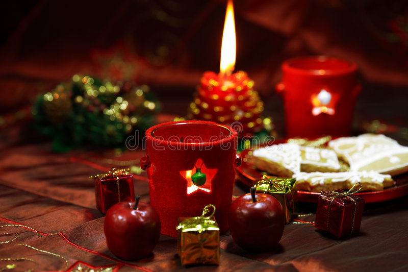 Weihnachtsnoch Leben stockbild
