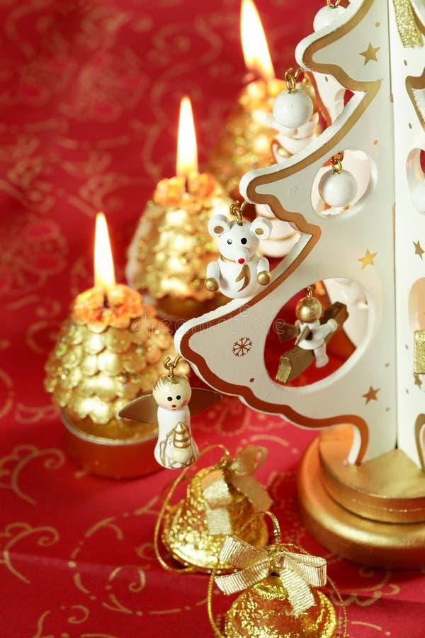 Weihnachtsnoch Leben lizenzfreies stockbild